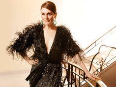 Julianne Moore wearing a #GiorgioArmani Privé dress at the Cannes Film Festival