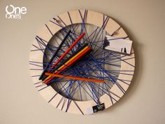 String Out! navy blue wheel www.facebook.com/OneOnesCreativeStudio