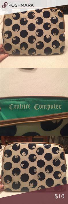 ☀️Juicy Couture laptop case☀️ Juicy Couture laptop case Juicy Couture Bags Laptop Bags