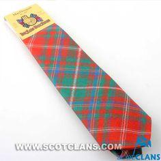 Clan MacDougall Tartan Tie