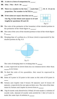 9 Best Worksheets images | Ratios, proportions, Class 6 ...