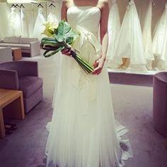 セカンドウェディングドレスはヴェラウォン、デラニー♡ #verawang#verawangdress #verawangdelany#delany#delaney#weddingdress#happy#wedding#ヴェラウォン#myweddingdress