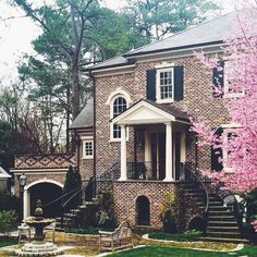 Gorgeous Home in Brookwood Hills, Atlanta #dreamhome #classic #newhome www.therightmortgage4u.ca www.facebook.com/therightmortgage4u