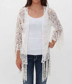 Gimmicks by BKE Lace Cardigan - Women's Cardigans | Buckle