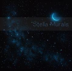 Glow in the Dark Star Ceiling Mural  Pegasus the by StellaMurals, $160.00