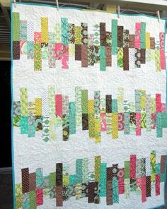 Strip Quilt Idea