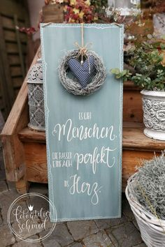 Diy Painting, Painting On Wood, Lettering, Sweet Home, Shabby Chic, Presents, Crochet, Handmade, Painted Wooden Signs