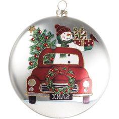 Handpainted Christmas Ornaments, Christmas Ornament Crafts, Painted Ornaments, Christmas Wood, Christmas Balls, Holiday Ornaments, Handmade Christmas, Christmas Decorations, Free Christmas Printables