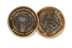 Tem moeda de R$ 1 das Olimpíadas