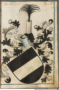 Scheibler'sches Wappenbuch Süddeutschland, um 1450 - 17. Jh. Cod.icon. 312 c  Folio 85
