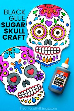 This sugar skull bla