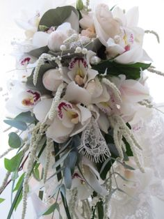 Bridal bouquets spill