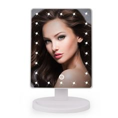 22 LED Touch Screen professional vanity Makeup Mirror