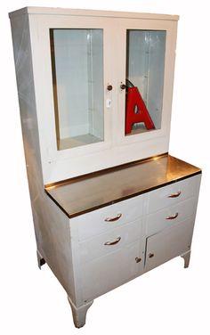 Metal Doctor's Cabinet. $950.00