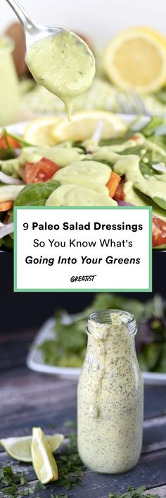 Your salads are about to be dressed to impress. #greatist https://greatist.com/eat/paleo-salad-dressings