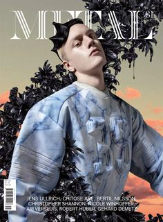 METAL 31 COVER II Max Lester by Frederik Heyman - Styling by Santi Rodríguez