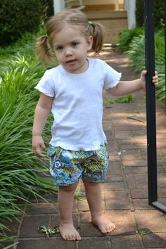 SALE Bubble Shorts PDF Sewing Pattern Instant by aivilocharlotte