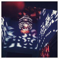 San Miguel de Allende Indoor Light. Yes that's my finger in the left corner:)