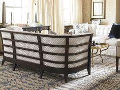 The Zachary Sofa by Alexa Hampton is elegant from any angle! www.hickorychair.com
