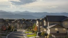 View from a home in #Thebackcountry #highlandsranch