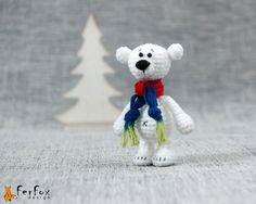 L'ours polaire ours en peluche ours en peluche par FerFoxDesign