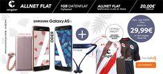 Galaxy A5 mit St.Pauli Trikot für 29,99€ + Congstar Handyvertrag http://www.simdealz.de/telekom/congstar-allnet-flat-mit-zusatz/