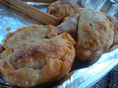 Empanada de Horno - Chilean savory meat filled pastry