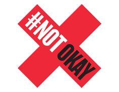 Teaching girls how not to get raped instead of teaching boys not to rape is #NOTokay. Blaming the victim is #NOTokay. Accepting violence as a natural part of society is #NOTokay. Belittling, sexualizing, and attacking women online, on TV, or anywhere else is #NOTokay. Together we're going to stand up and say it's #NOTokay. www.notokay.ca