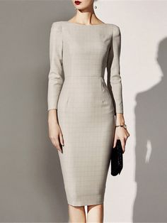 Winter Outfits For Work – Lindsey's Personal Web Site Elegant Dresses For Women, Simple Dresses, Casual Dresses, Fashion Dresses, Dresses For Work, Casual Outfits, Classy Work Outfits, Classy Dress, Work Casual