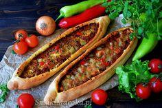 Tureckie pide z mięsem mielonym – SmakiMaroka.pl