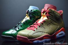 """Air Jordan 6 Retro """"Champagne"""" & """"Cigar"""" – Release Date- http://defpenradio.com/wp-content//2014/05/champagne-cigars-pack-air-jordan-6-detailed-images-04-900x596.jpg- http://getmybuzzup.com/air-jordan-6-retro-champagne-cigar-release-date/- By Delly Ralph Today some great news was shared via: twitter by none other than @J23app. The news so happen to be the release date for the long awaited and highly anticipated Air Jordan 6 Retro """"Champagne"""" and """"Cigar""""."""
