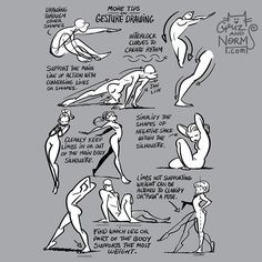 Tuesday Tips - Some pointers about gesture drawing. #norm #grizandnorm…