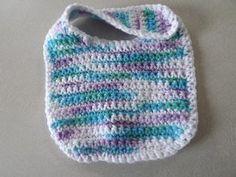 Easy Crochet Baby Bib