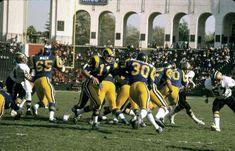 b35f7cab8 Los Angeles Rams  Pat Haden hands off to Lawrence McCutcheon vs. San  Francisco 49ers