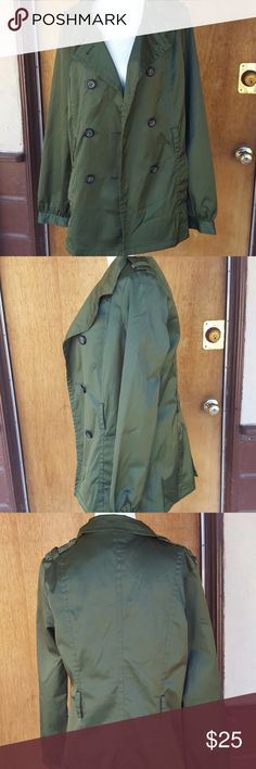 Mng Suit womens green long jacket size medium in great condition Bust - 38 inches Length - 29 inches Mng Suit Jackets & Coats