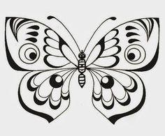 pintura em tecido-borboleta