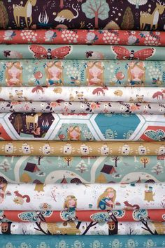 I will also take this FQ bundle, please. Teagan White for Birch Organic Fabrics, Fort Firefly, Entire Collection 13 in Total