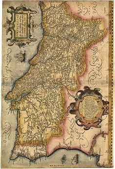 primeiro mapa de portugal