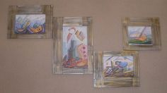 Διακοσμητικό δημιουργίας μου σε ξύλο-αντίγραφο σε ψηφιακή εκτύπωση ζωγραφικού μας έργου.-υπάρχει η δυνατότητα  διαφοροποιήσεων. Frame, Painting, Home Decor, Art, Picture Frame, Art Background, Decoration Home, Room Decor, Painting Art