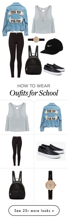 """Back To School"" by manu-2014 on Polyvore featuring Barbour, Vans, American Apparel, STELLA McCARTNEY, Rachel Rachel Roy and NIKE"