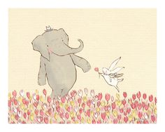 Children's Wall Art Print  Wellesley & Winslow door sarahjanestudios, $26.00
