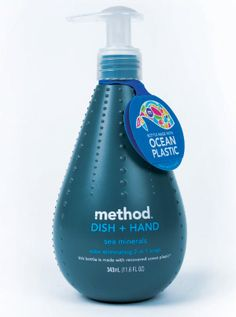 Method's new bottle made from recycled plastic from the sea