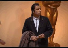 Discover & share this John Travolta GIF with everyone you know. GIPHY is how you search, share, discover, and create GIFs. John Travolta Pulp Fiction, Best Funny Pictures, Funny Images, Free Animated Gifs, Daily Funny, Oscar, Better One, Funny People, Funny Things