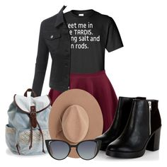 """Untitled #1457"" by grandmasfood ❤ liked on Polyvore featuring LE3NO, Aéropostale, Satya Twena and Fendi"
