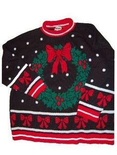 just bought this for the tacky christmas sweater party!! hehe had to pin it!