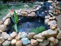 Resultado de imagem para cascadas en jardines pequeños