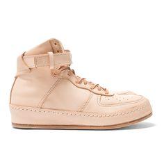 "HENDER SCHEME > ""Manual Industrial Product 01"" Hi Top Sneakers, Natural"
