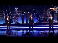 """Il Volo's Eurovision Finale performance of """"Grande Amore"""". They came in third, won the press award, AND the people's popular vote! I couldn't be prouder of them if they had won first place. They've worked so hard, and sang so beautifully. They completely outdid themselves tonight. So proud. ☺️"""