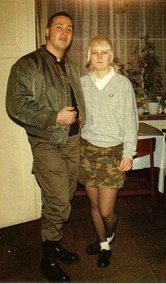 Dutch Skinheads Franky & Liesbeth 1988