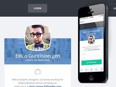 Enterprise Profile page by Eelco Guntlisbergen